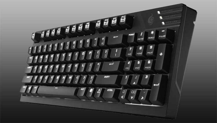 SteelSeries 6Gv2 mechanische Gaming Tastatur schwarz: Amazon