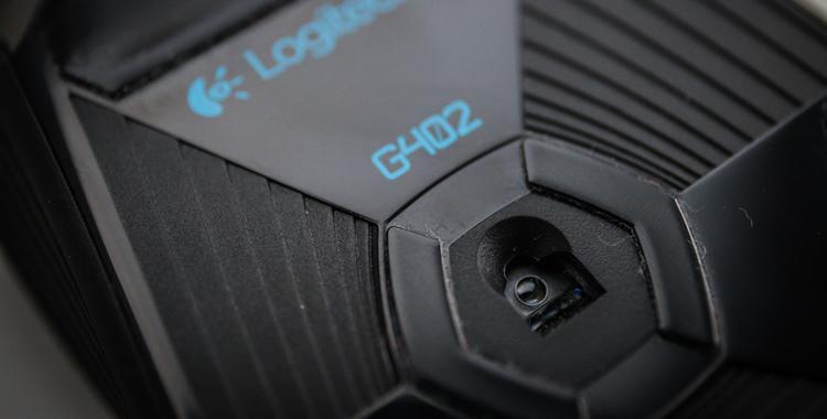 logitech g402 maus sensor