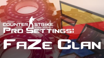 FaZe Clan Settings in CS:GO