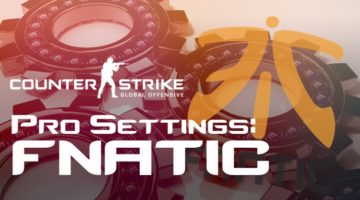 Fnatic Settings in CS:GO