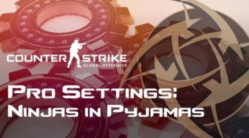 Ninjas in Pyjamas Settings in CS:GO