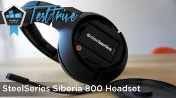 SteelSeries Siberia 800 Test – High-End Wireless Gaming Headset