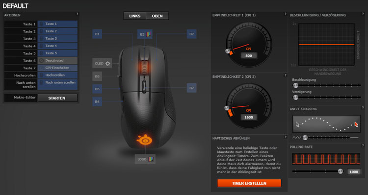 steelseries rival 700 test engine