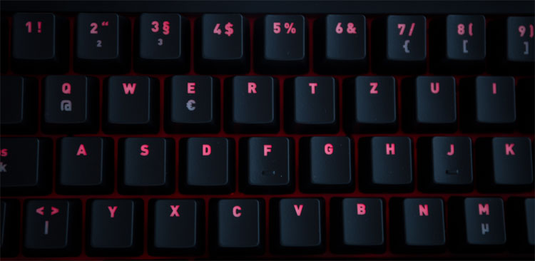 fnatic rush keys