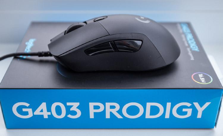 logitech g403 prodigy test