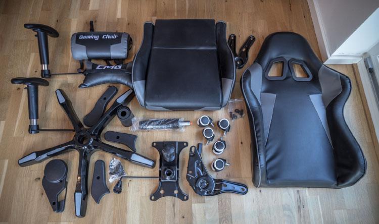 cmg gamer chair inhalt