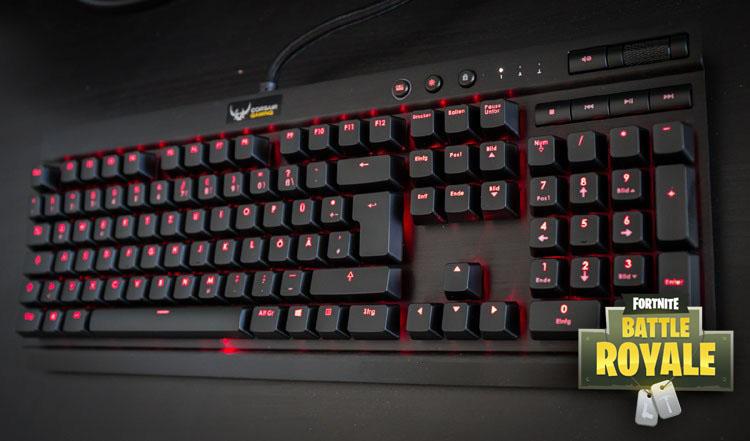 tastatur fortnite k70
